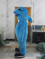 customized blue fish mascot costumes clown fish costumes