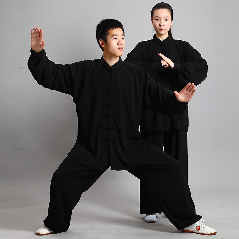 New Tenue Kung Fu Wushu Clothes Shaolin Suit Kungfu Uniform Traditional Chinese Dress Men Martial Art Dragon Clothing Woman Uomo