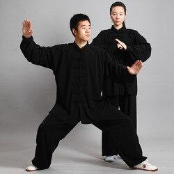 Nuevo Tenue Kung Fu Wushu ropa traje Shaolin uniforme de Kung Fu vestido tradicional chino hombres artes marciales ropa de dragón mujer Uomo
