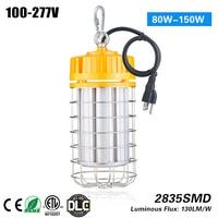 100W Temporary Led High Bay warehouse Lights 5000K 13000lm
