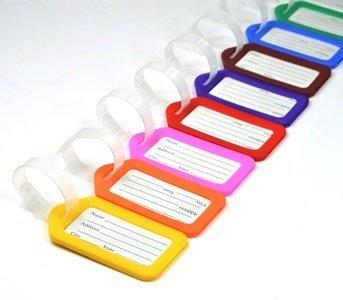 12 Piece Different Colors Plastic Travel Square shape
