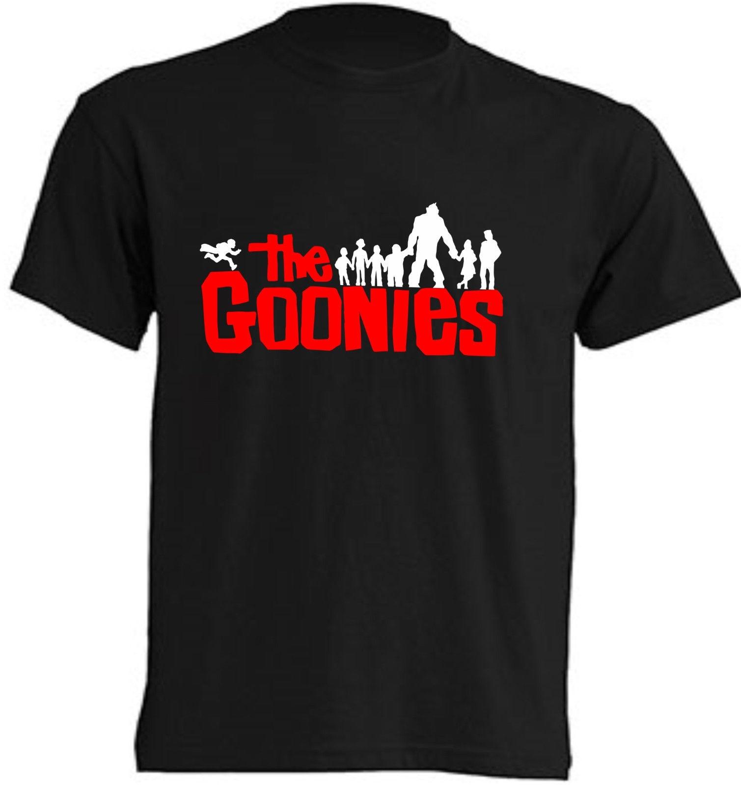 CAMISETA- THE GOONIES - T-SHIRT - NINOS Y ADULTOS Low Price Round Neck Men Tees shirts