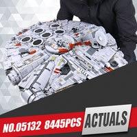 LEPIN 05027 3250Pcs Star Wars Emperor Fighters Starship Model Educational Building Kit Blocks Bricks Toy Compatible