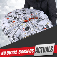 LEPIN 05027 3250Pcs Star Wars Emperor Fighters Starship Model Educational Building Kit Blocks Bricks Toy Compatible
