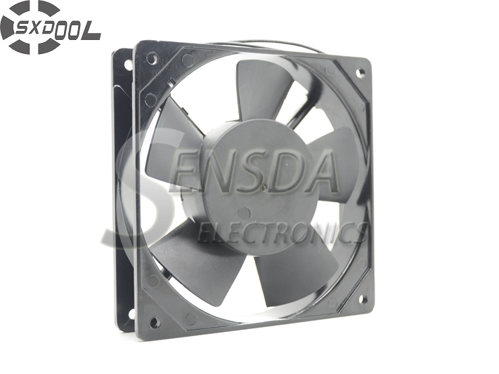 цены на SXDOOL cooling fan 220V  12025 120*120*25mm 12cm 120mm 50/60HZ 0.10A sleeve bearing cooler в интернет-магазинах