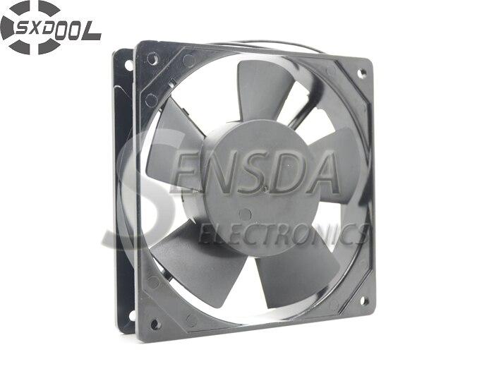 SXDOOL de refroidissement ventilateur 220 V 12025 120*120*25mm 12 cm 120mm 50/60 HZ 0.10A manches portant refroidisseur
