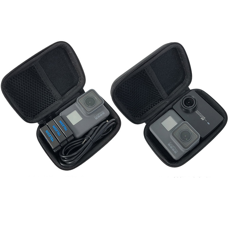 Mini Bag Portable Shockproof Storage box Compact waterproof Case For Gopro Hero 7 6 5 4 3 SJCAM Xiaomi Yi 4K MIJIA Action Camera grille