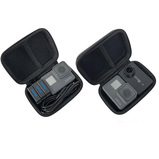 Mini Bag Portable Shockproof Storage box Compact waterproof Case For Gopro Hero 7 6 5 4 3 SJCAM Xiaomi Yi 4K MIJIA Action Camera