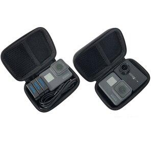 Image 1 - 미니 가방 휴대용 shockproof 스토리지 박스 gopro 영웅 8 7 6 5 4에 대 한 소형 방수 케이스 sjcam xiaomi 이순신 4 k mijia 액션 카메라