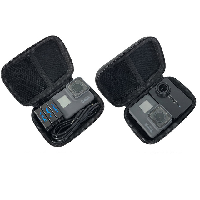 미니 가방 휴대용 shockproof 스토리지 박스 gopro 영웅 8 7 6 5 4에 대 한 소형 방수 케이스 sjcam xiaomi 이순신 4 k mijia 액션 카메라