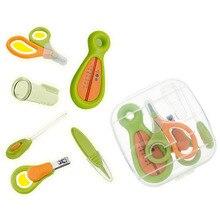 Детский набор для ухода за здоровьем портативный набор инструментов для новорожденных Детский набор для ухода за ногтями предохранительный резак набор для ухода за ногтями
