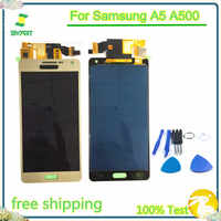 A5 TFT LCD Display Touch Screen Digitizer Sensor Assembly For Samsung Galaxy A5 2015 A500 A500F A500FU A500M A500Y A500FQ