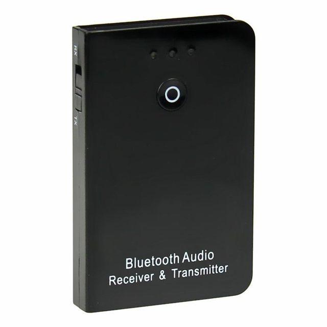 Dispositivo de Música sem fio Bluetooth Adapte Preto Função 2em1 Adaptador Receptor Transmissor Boa Alta qualidade De Streaming de Áudio Mais Recente