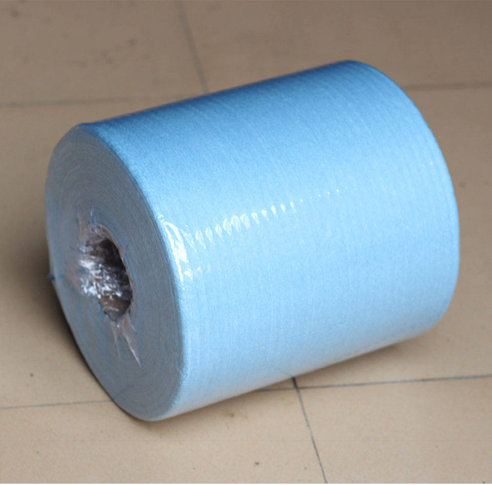 Высококачественные безточечные салфетки без ворса тряпки в рулоне синие для очистки окон и оконной пленки установка 500 штук/рулон QB 02-in Очиститель для краски from Автомобили и мотоциклы