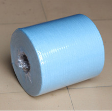 Good quality lint free spotless wipes wiper roll blue for cleaning window and window film installation MX-133R 500pieces/roll