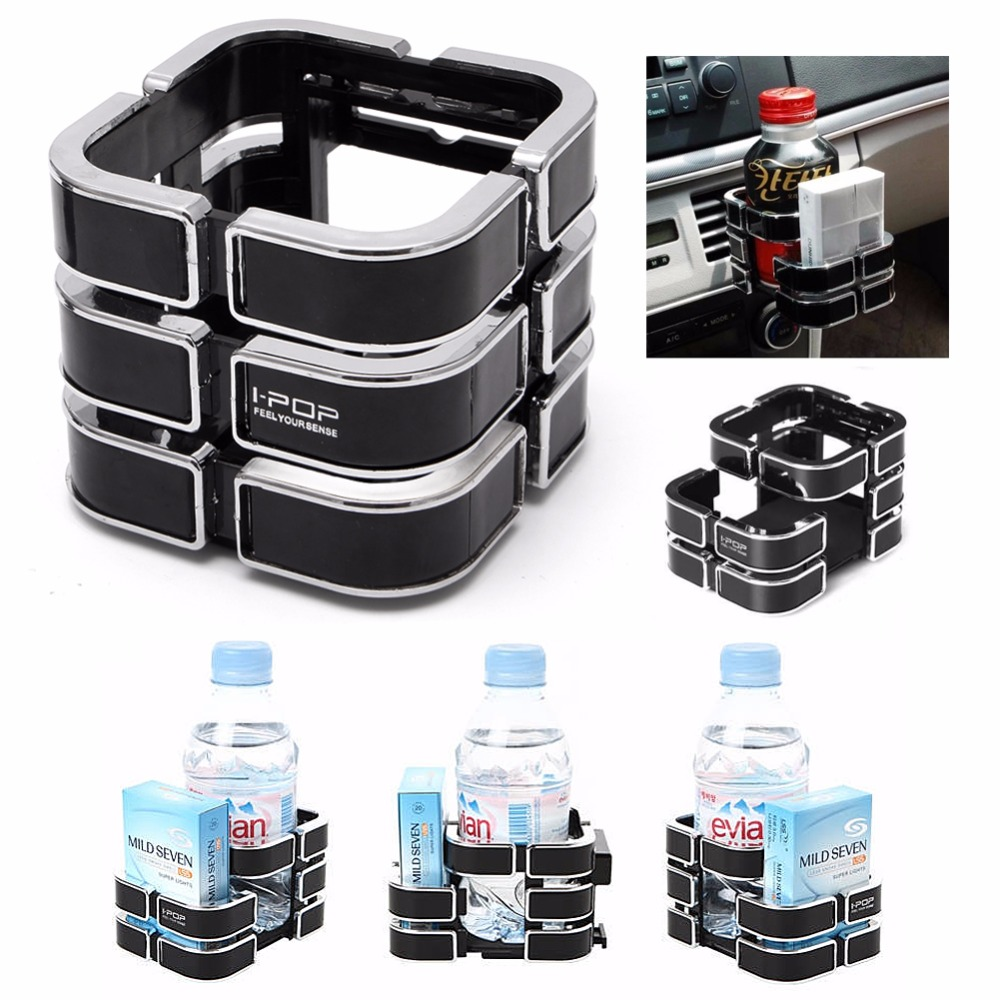 1PC ABS Black Truck Vehicle Drink Bottle Cup Phone Holder Stand Universal Car Auto New Drop shipping