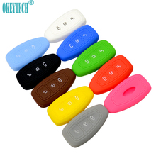 OkeyTech New Replacement Silicone Car Key Case Cover Holder For Ford Fiesta Focus Mondeo C-Max B-Max Kuga Silica Gel Key Cases  sc 1 st  AliExpress.com & Popular Ford Car Key Replacement-Buy Cheap Ford Car Key ... markmcfarlin.com