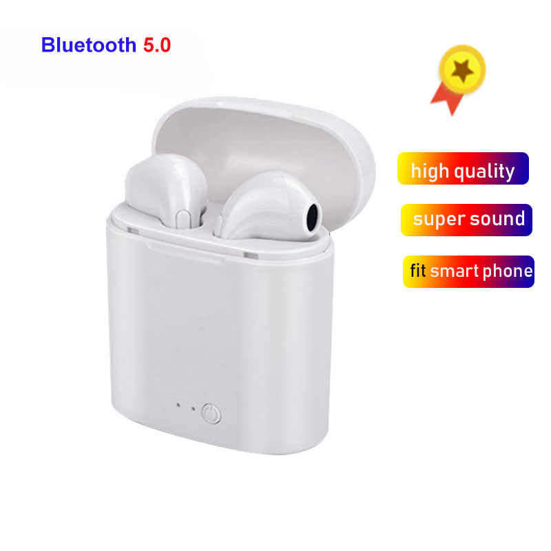 High Quality i7s TWS Mini Wireless Bluetooth Earphones Headphones Stereo Music Earbuds For Ear TWS i7 Iphone Xiaomi