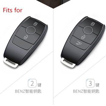 2019 New TPU Car Remote Key Case Shell For Mercedes Benz E Class W213 E200 E260 E300 E320 Protective Key Cover Fob Holder