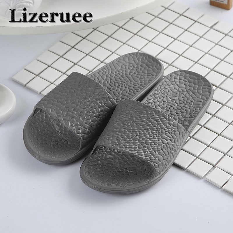 daf08988d882 2018 Summer Beach Men Shoes Casual Couple Sandals Slippers Summer Outdoor Flip  Flops Flats Non-