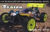 Rcレーシングカー1:16 eclectricオフロードバギーhsp 94185 2.4グラムラジオrcトラギーp2