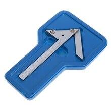 Centering Square 100*70mm Gaging Center Gauge Round Bar Marking Center Finder LS'D Tool