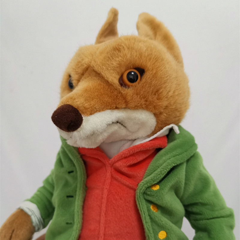 New Peter Rabbit Mr Tod Fox Plush Toy Large 32cm Cute Stuffed Animals Soft Kids Baby Preferred Toys Dolls Gifts