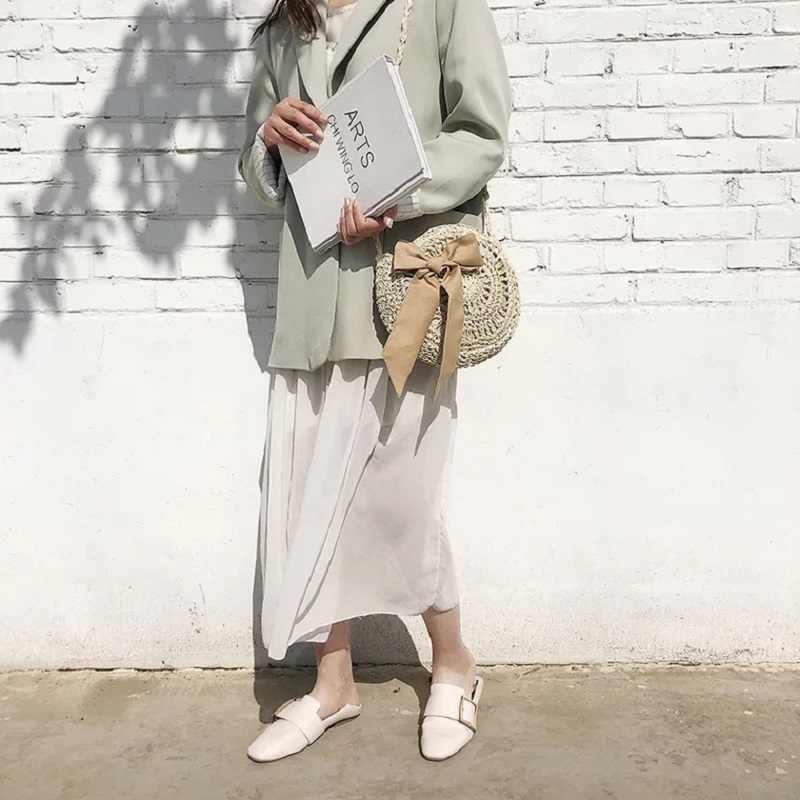 Мода ручной тканые круглые Для женщин сумка чешского бантом Сумочка летние соломенные пляжные Crossbody женский Tote крепление на сумки