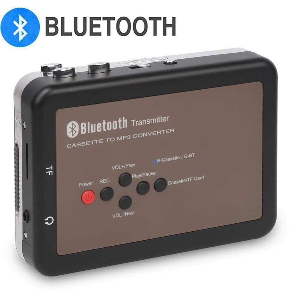 DIGITNOW! BT Walkman Cassette Player Personal Cassette Tape Digital Recorder, Cassette Tape to Mp3 Converter, No PC Requi