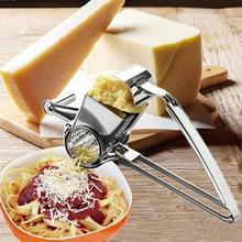 1 stück Edelstahl Hand Rotation Käsereibe Multifunktions Küchenwerkzeuge Sicher Fondue Schokolade Zitrone Kochen Backen-werkzeuge S2