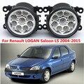 Para Renault LOGAN LS Saloon 2004-2015 Car styling faros antiniebla parachoques delantero faros antiniebla LED de alta luminosidad 1 Unidades