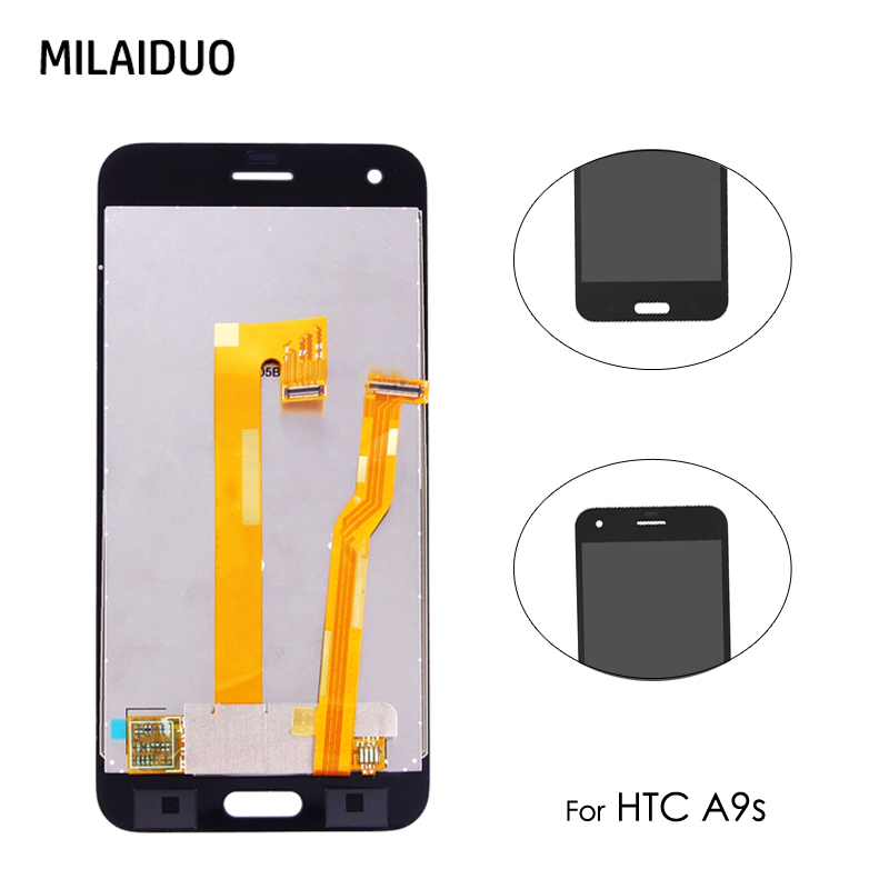Original For HTC One A9s LCD Display Touch Screen Digitizer Assembly Replacement Repair Parts No Frame Mobile Phone 1280x720