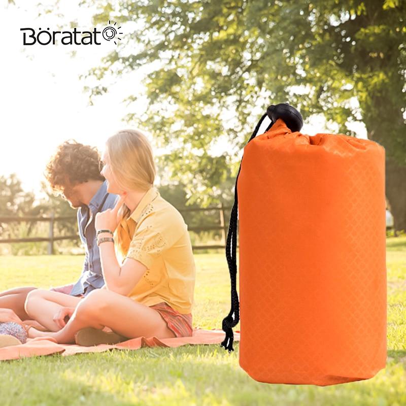 Camping Mini Pliage Tapis de Pique-Nique Barbecue Sandbeach Extérieur Étanche Carré Parc Portable Poche Blacket