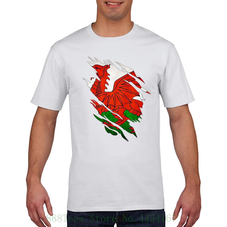 Wales Rugger T Shirt Torn Shirt Design Cymru 6 Nations Rugger