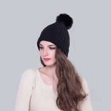 2016 утолщение вязание hat женщины зимние наушники тепловой пара крышка