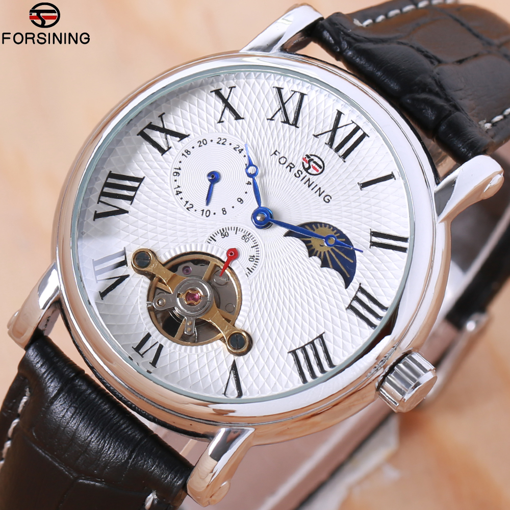 FORSINING Top Luxury Brand Fashion Automatic Mechanical Watches Men watch Relogio Masculino Sport Business Wristwatch Male Clock sapphire automatic mechanical watch classic mens watches top brand luxury fashion male wristwatch high quality relogio masculino