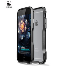 Metal Bumper for iPhone 6s Plus Case Cover Luxury Aluminum Frame Armor Brand Pho