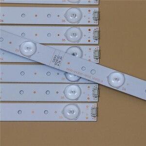 Image 2 - TV LED Light Bars For TelefunkenTF LED43S27T2 RDL430FY LD0 10f Backlight Strip Kit LED Lamp Lens Band 5800 W43001 5P00 VER02.00