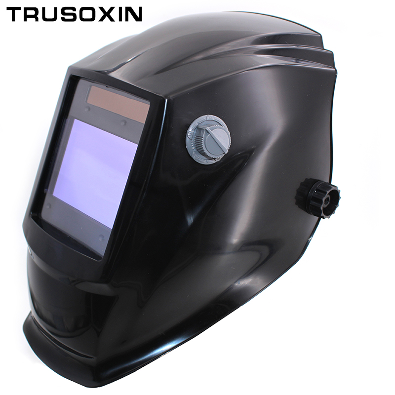 Big View Eara 4 Arc Sensor DIN5-DIN13 Solar Auto Darkening TIG MIG MMA Grinding Welding Mask/Helmet/Welder Cap/Welder Glasses welding helmet welder cap for welding equipment chrome for free post