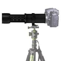 JINTU 420 800mm f/8,3 HD руководство телеобъектив для Canon EF M EOS M1 M2 M3 M5 M6 M10 M50 M100 беззеркальные камеры Бесплатная доставка