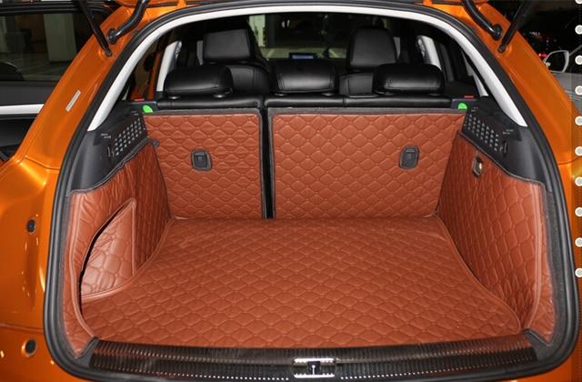 Top Carpets! Full Set Car Trunk Cargo Mats For Audi Q3