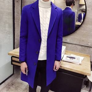 Zogaa Long-Coat Business Woolen Autumn Men's Winter Fashion Casual New And Boutique Designer