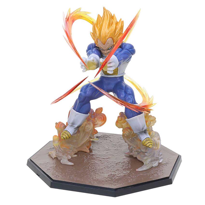 Son Goku Majin Buu Vegeta Trunks Super Saiyan 3 Freezer PVC Modelo Brinquedos Figuras de Ação De Dragon Ball Z Estatueta Colecionável