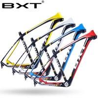 BXT T800 Carbon Mtb Frame Full Suspension 29er Suspension Carbon Fiber Mountain Bike 29 15 5