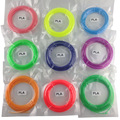 5 UNIDS! ABS/Filamento del PLA 1.75mm 20 Colores 10 M para la Impresora 3D y 3D Pluma impresión Reprap/Impresora Wanhao/Makerbo con piezas de la impresora 3d