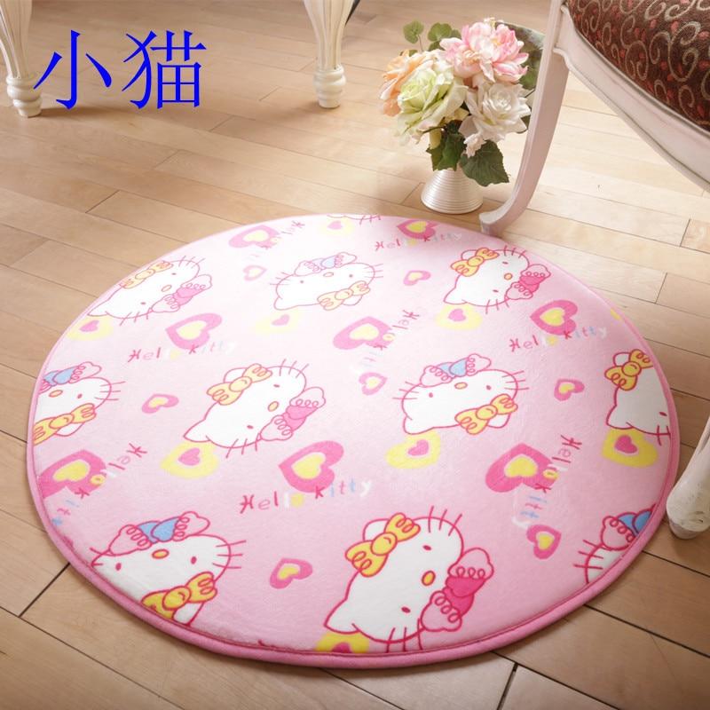 Diameter 100cm Baby Play Mat Floor Hallway Mat Yoga Rugs Bedroom  Carpet(China (Mainland