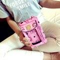 Fashion Women Wallet Woman Purse Mini Hasp Short Lady Purse Girls Handbag Android/Apple mobile phone bag iphone bag for 6s plus