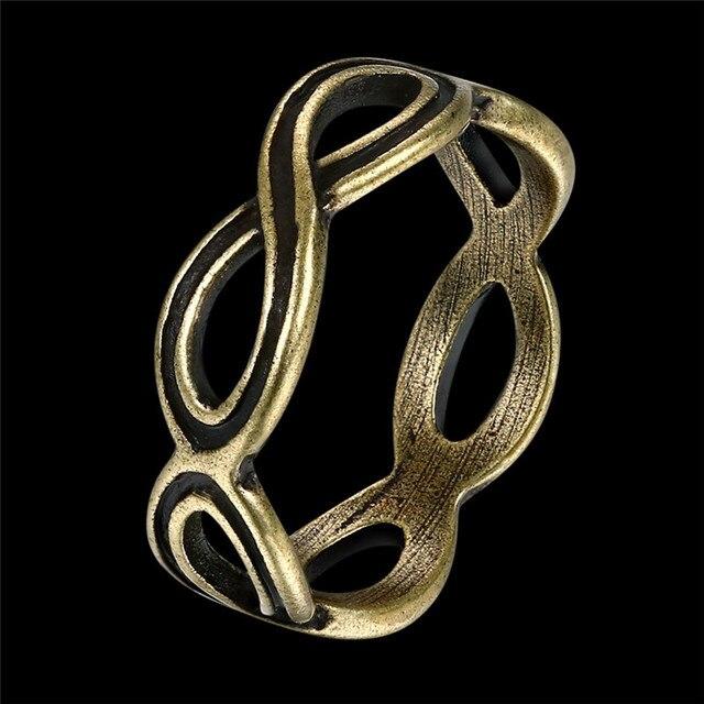 Alte Bronze Farbe Serie Ring Mode Trend Ring Weibliche Modelle Einfache  Blaue Farbe 11 Ringe