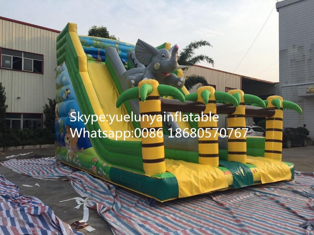 2016 new Factory direct Inflatable slide,Elephant slide  KY-112