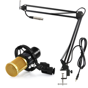 Image 5 - GEVO BM 800 Microphone For Computer Wired Studio Condenser Karaoke Mic BM800 And Pop Filter NB 35 Holder Arm For phantom power